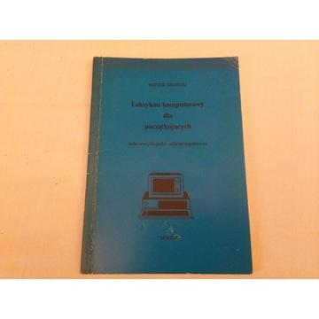 Leksykon komputerowy Sikorski 1992 wydawnic. Mikom