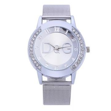 Piękny stylowy zegarek dla Pań - licytacja od 1zł