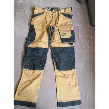 Spodnie robocze Snickers Stretch 6341 r. 52 khaki