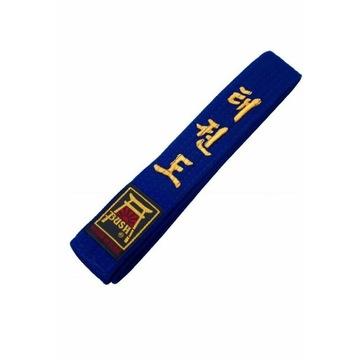 BUSHI PAS TAEKWONDO ITF WTF Niebieski 180cm
