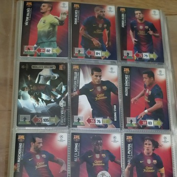Karty PANINI UEFA CHAMPIONS LEAGUE 2012-2013