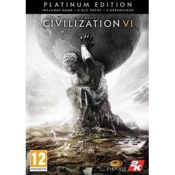 Civilization VI 6 Platinum Edition KLUCZ STEAM PC