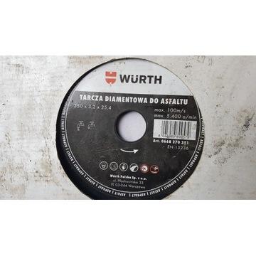 Tarcza diamentowa Wurth 350