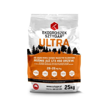 EkoGroszek Sztygar Ultra 25 kg 28-26 Mj/kg