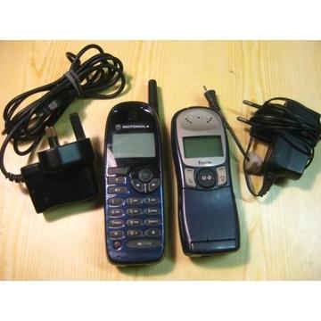 Motorola M3788 i Mitsubishi Trium-dwa zabytki