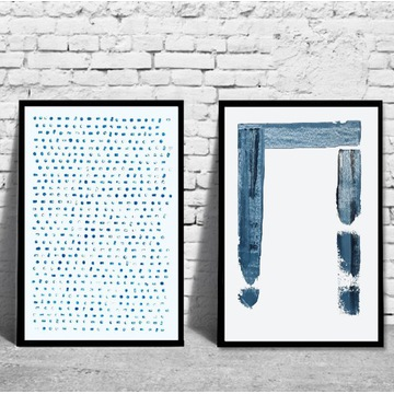 Dwa plakaty obraz