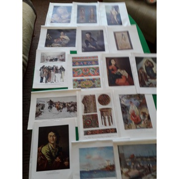 karty pozyskane z encyklopedii - zdjęcia, malarstw