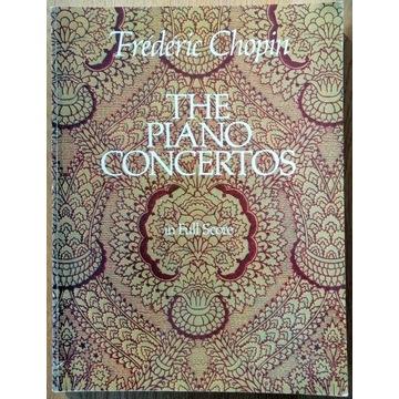 "F. CHOPIN ""The Piano Concertos"" in Full Score"