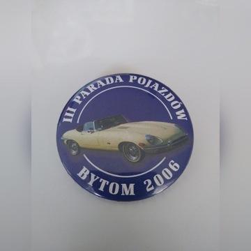 Przypinka III Parada Pojazdów Bytom 2006