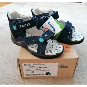 Nowe sandały BARTEKroz. 25
