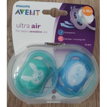Avent Ultra air Smoczek Ortodontyczny 6-18m