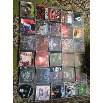 Zestaw  29 CD!!! BLACK/THRASH/DEATH!!!!!
