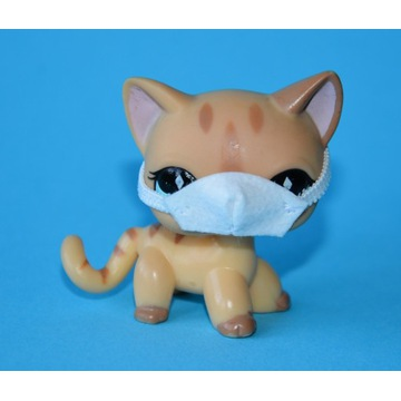 Kotek Shorthair#886 Littlest Pet Shop LPS ORYGINAŁ