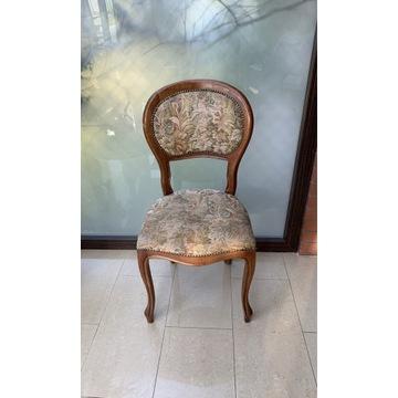 Piękne Krzesło Ludwik Filip