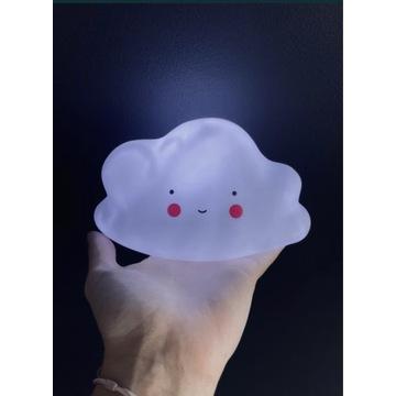 Lampka nocna kształt chmurki bezprzewodowa