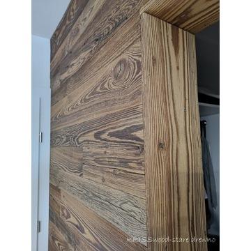 Oryginalne stare drewno DESKA ŚCIENNA półki LOFT