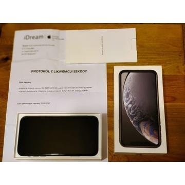 IPhone Xr Black 3/64 GB Nowy