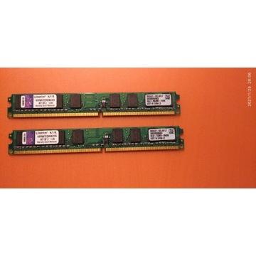 Pamięć RAM Kingston KVR667D2N5K2 2 x 1GB