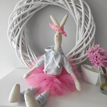 Króliczek Tilda zajączek handmade Wielkanoc