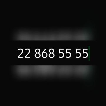 Zloty numer stacjonarny warszawski 22 868 55 55