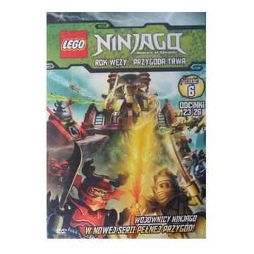 LEGO Ninjago, cz.: 6, odc.: 23-26 - dvd z licencją