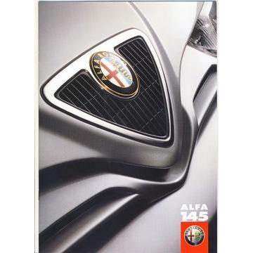 Prospekt Alfa Romeo 145 z 1999r.