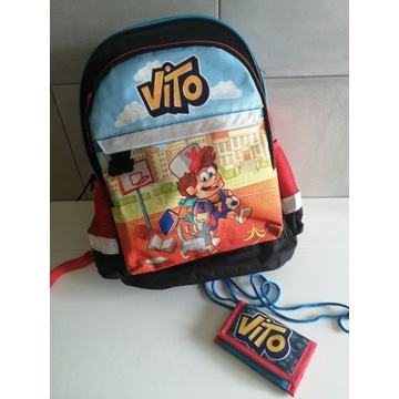 Plecak szkolny VITO z kolekcji 2019/2020 + portfel