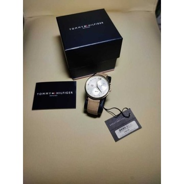 Tommy Hilfiger MEG 1782129 damski zegarek piękny