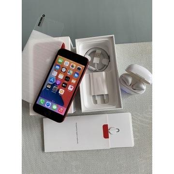 Piękny iPhone RED 8/64gb bateria100%+gratisy