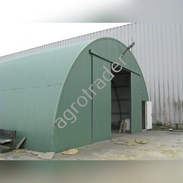 Konstrukcja stalowa hala łukowa garaż obora wiata