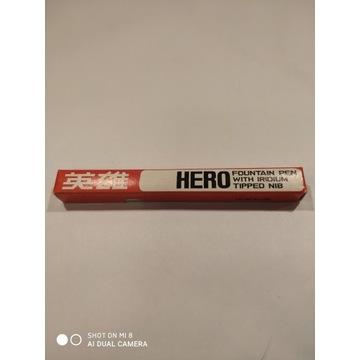 pióro wieczne na tłoczek, chińskie, Hero 336, PRL