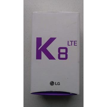Okazja - telefon LG K8 LTE 4G super stan komplet