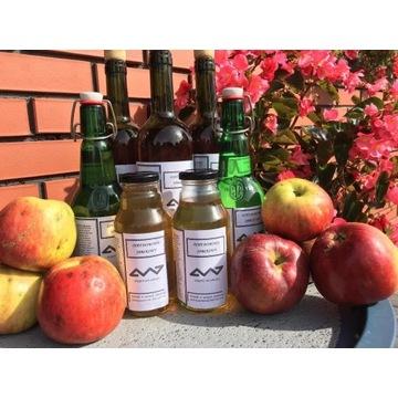 Ocet jabłkowy domowy, naturalny, niefiltrowany
