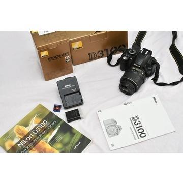 Nikon D3100 + obiektyw + gratisy