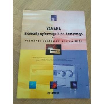 Yamaha katalog Elementy cyfrowego kina domowego