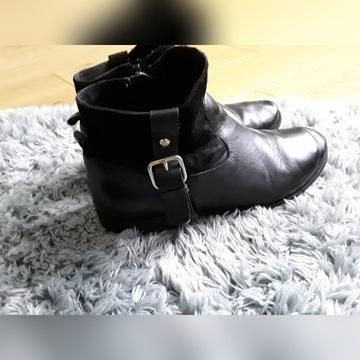 Zara Girls Botki rozmiar 33