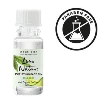 Oczyszczający olejek Love Nature 10 ml ORIFLAME