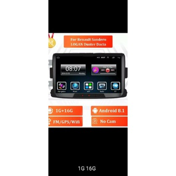 2 DIN RADIO Android do Renault