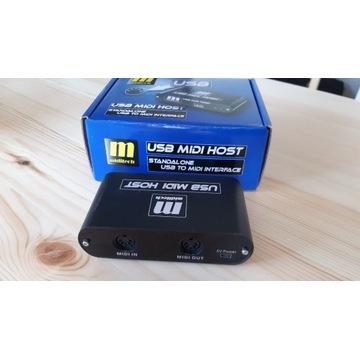 MIDITECH USB MIDI HOST INTERFEJS MIDI/USB