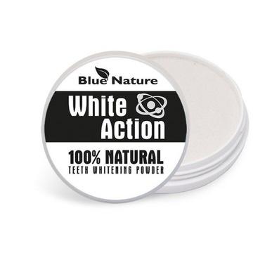 Proszek do wybielania zębów White Action