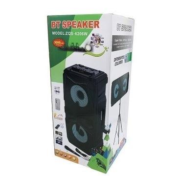 Głośnik bluetooth karaoke - Mega Bass !!!