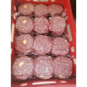 Świeże mięso dla burgerowni