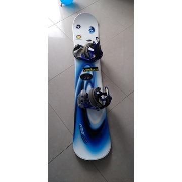 Snowboard F2 z wiązaniami długość 161 cm
