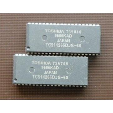 TC514265 EDO DRAM - 4MB 256KBx16 SOJ40 TOSHIBA