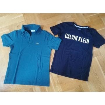 Lacoste, Calvin Klein, Reserved, ubrania dla chłop
