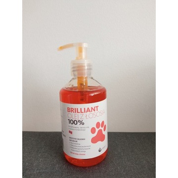 Brillant olej z łososia 300 ml dla kota psa