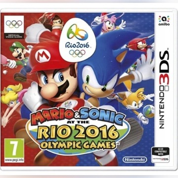 Mario & Sonic RIO 2016 3DS olympic games