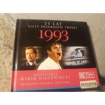 25 LAT LISTY PRZEBOJÓW TRÓJKI 1993