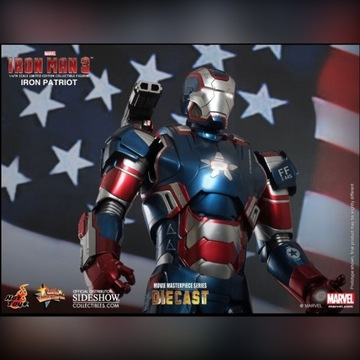 Sideshow Hot Toys Iron Patriot DIECAST