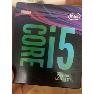 Procesor Intel Core i5-9400 2.9GHz 9MB Cache NOWY